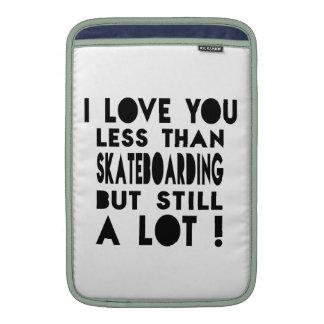 Skateboarding Designs MacBook Air Sleeves