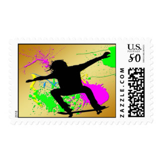 Skateboarding Extream Postage