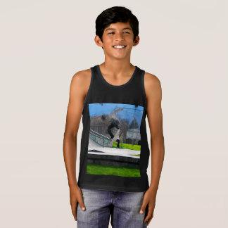 Skateboarding Fool Tank Top