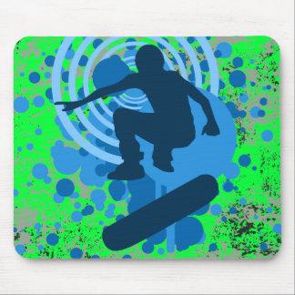 skateboarding hi-fi mouse mat