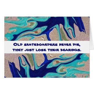 skateboarding humor card