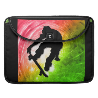 Skateboarding in a Psychedelic Cyclone MacBook Pro Sleeves