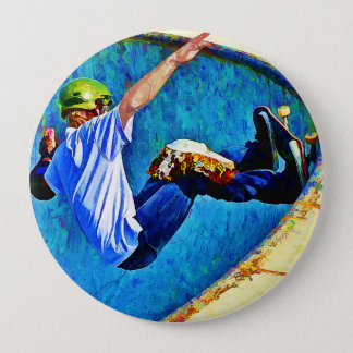 Skateboarding in the Bowl Button