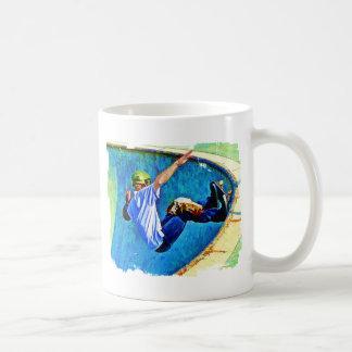 Skateboarding in the Bowl Coffee Mug