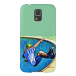Skateboarding in the Bowl Galaxy S5 Cases