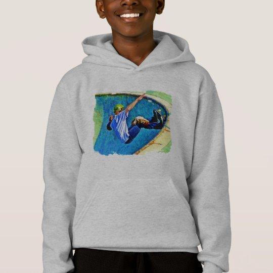 Skateboarding in the Bowl Hoodie