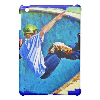Skateboarding in the Bowl iPad Mini Covers