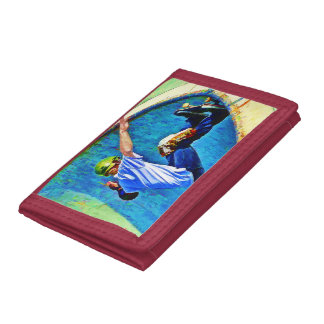 Skateboarding in the Bowl Trifold Wallet