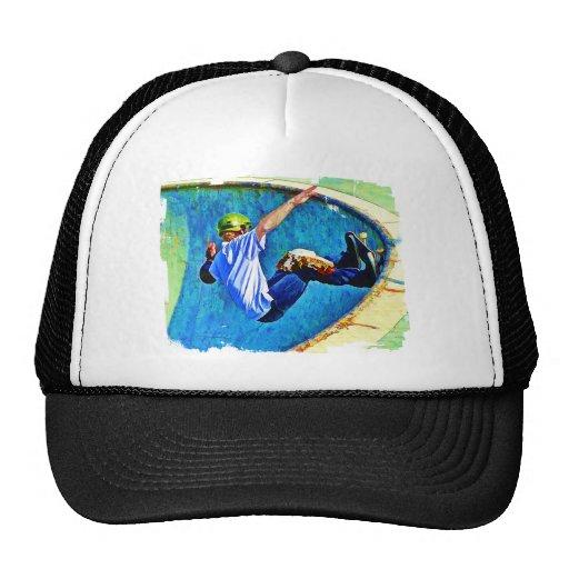 Skateboarding in the Bowl Trucker Hat