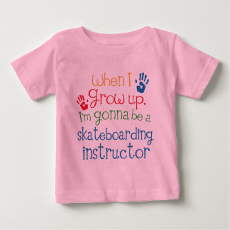 Skateboarding Instructor (Future) Child Baby T-Shirt
