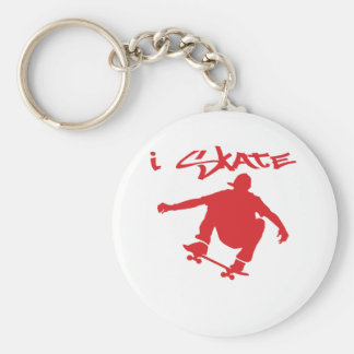 Skateboarding Keychain