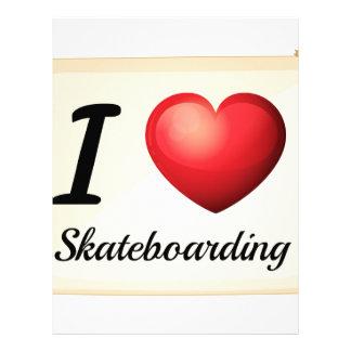 Skateboarding Letterhead