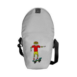 Skateboarding Messenger Bag