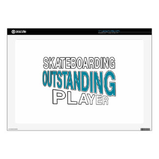 """SKATEBOARDING OUTSTANDING PLAYER 17"""" LAPTOP DECAL"""