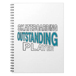 SKATEBOARDING OUTSTANDING PLAYER NOTEBOOK