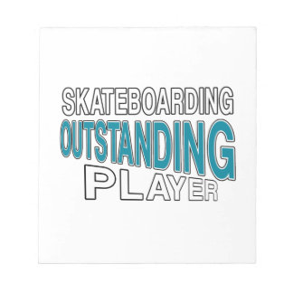 SKATEBOARDING OUTSTANDING PLAYER NOTEPAD