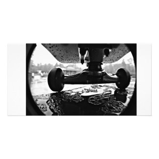 Skateboarding Photo Card