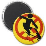 Skateboarding Refrigerator Magnets