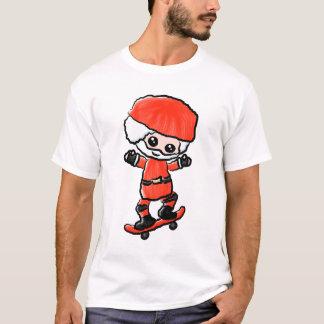 Skateboarding Santa T-Shirt