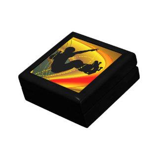 Skateboarding Silhouette in the Bowl Gift Box