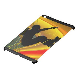 Skateboarding Silhouette in the Bowl iPad Mini Cover