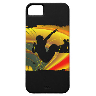 Skateboarding Silhouette in the Bowl iPhone SE/5/5s Case