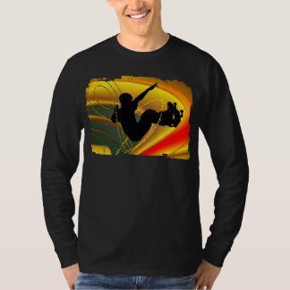 Skateboarding Silhouette in the Bowl Shirts