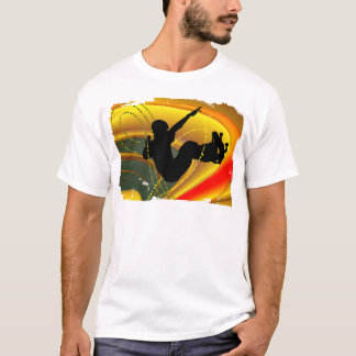 Skateboarding Silhouette in the Bowl T-Shirt