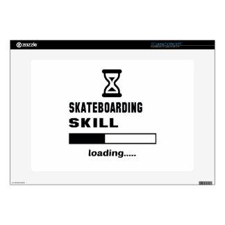 Skateboarding skill Loading...... Laptop Decals