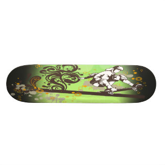 skateboarding sport style skate decks