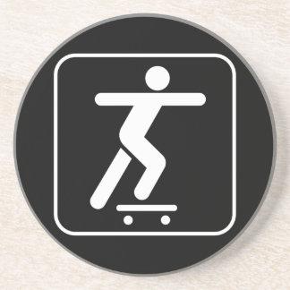 Skateboarding Symbol Coaster