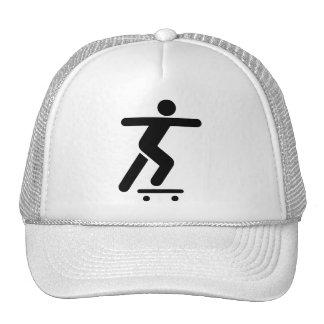Skateboarding Symbol Hat