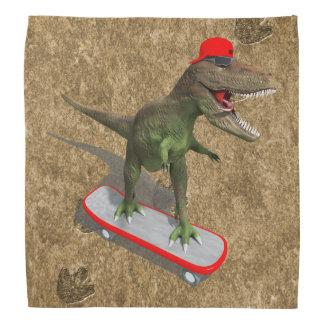 Skateboarding T-Rex Bandana