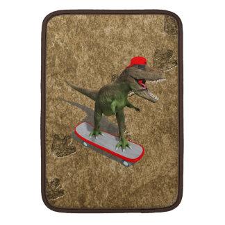 Skateboarding T-Rex MacBook Sleeve