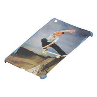 Skateboarding the Wall iPad Mini Covers