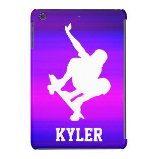 Skateboarding; Vibrant Violet Blue and Magenta iPad Mini Retina Cases