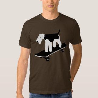 Skateboarding Welsh Terrier Shirt