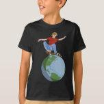 Skateboarding World Camisas