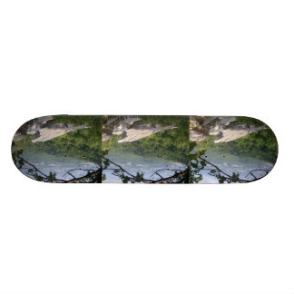 Skateboards made with photography