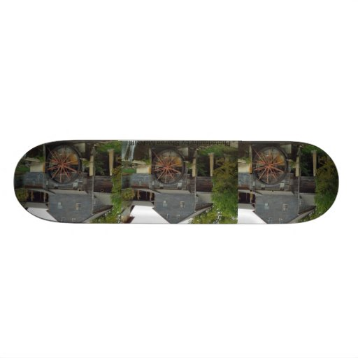 Skateboards made with photography 11