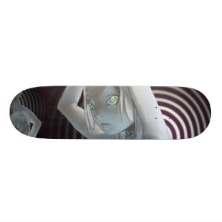 "skateboardz .......""HIP KNOW STICK"" Skateboard Deck"