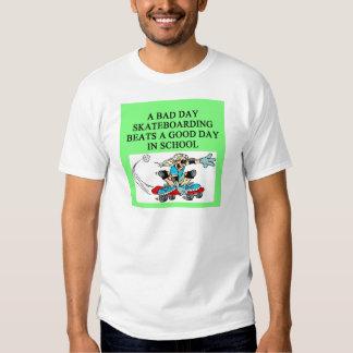 SKATEbording joke Shirt