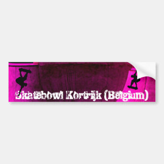 skatebowl skater 1 skater 1 Skatebowl Kortri Bumper Sticker