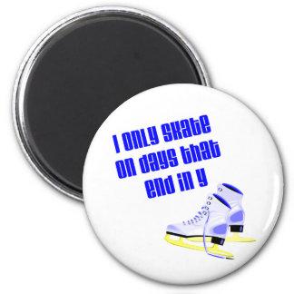 SkateChick Days 2 Inch Round Magnet