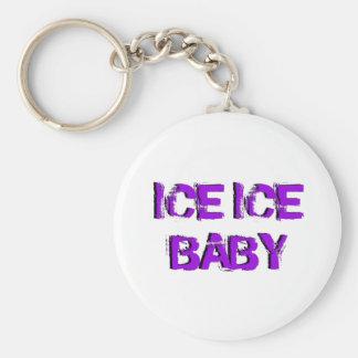 SkateChick Ice Ice Baby Basic Round Button Keychain