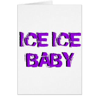 SkateChick Ice Ice Baby Card