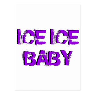 SkateChick Ice Ice Baby Postcard