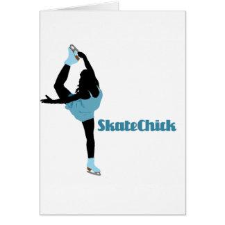 SkateChick Logo Card