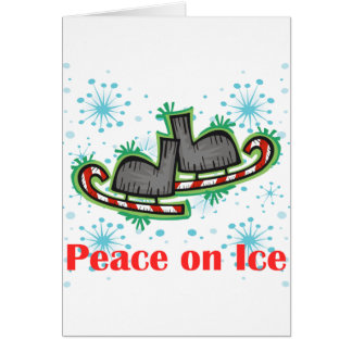 SkateChick Peace On Ice Card