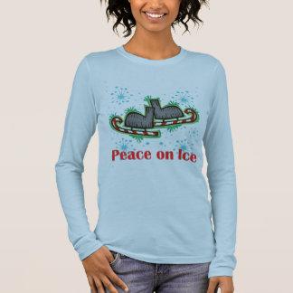SkateChick Peace On Ice Long Sleeve T-Shirt